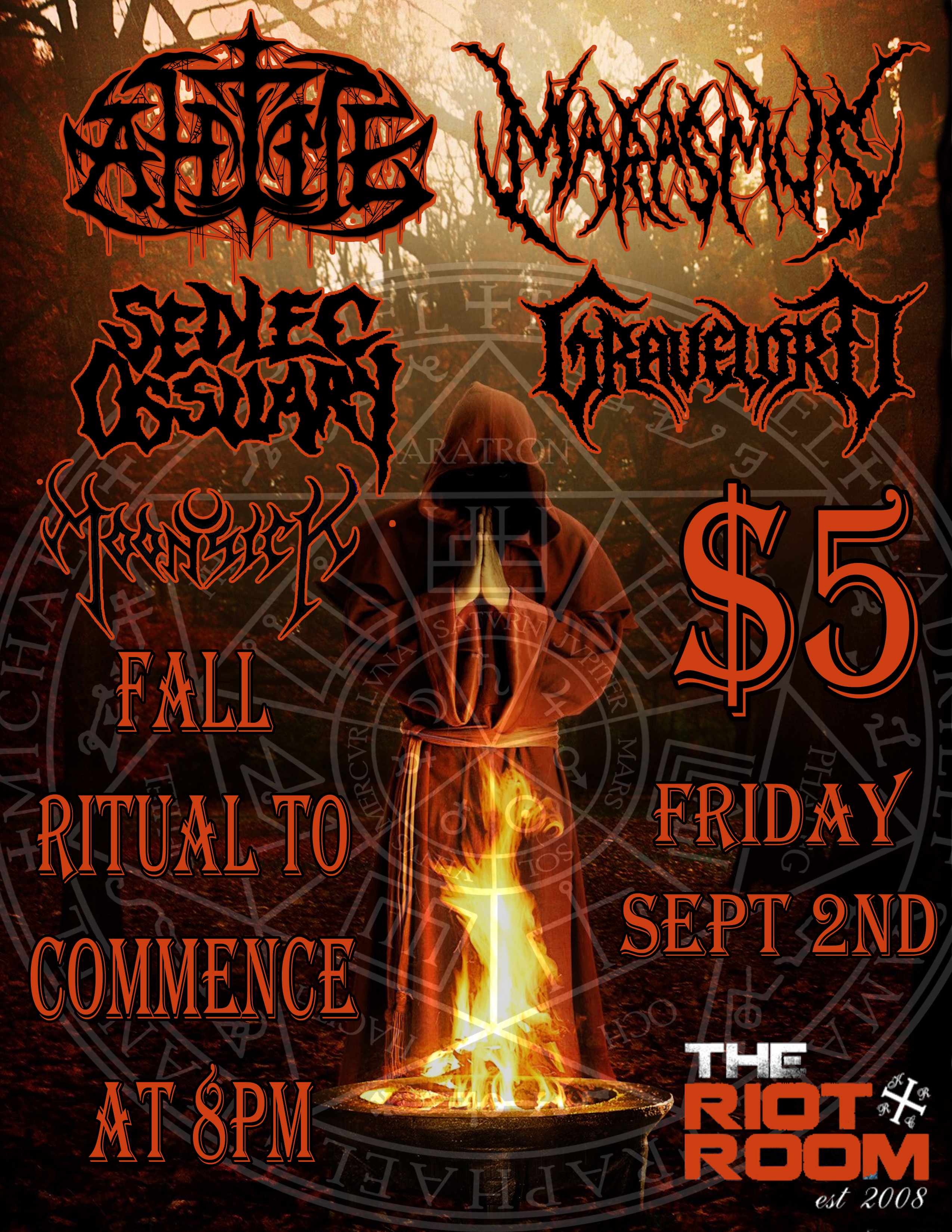 Sept 2nd @ The Riot Room